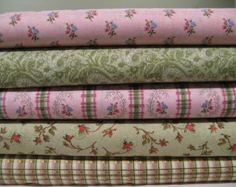South Sea Imports Provinical Garden Fabric