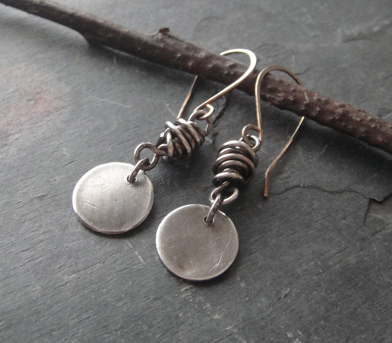 925 Sterling Silver Opal Earrings & Necklace Set Artisan ...  |Newest Silver Artisan Jewelry