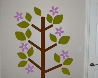 Wall Decal Blooming Tree - Vinyl Wall Decal