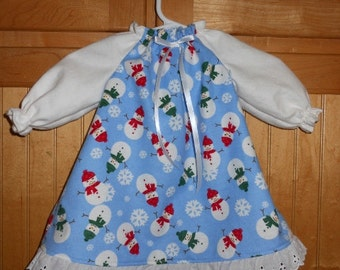 Cabbage patch Christmas nightgown