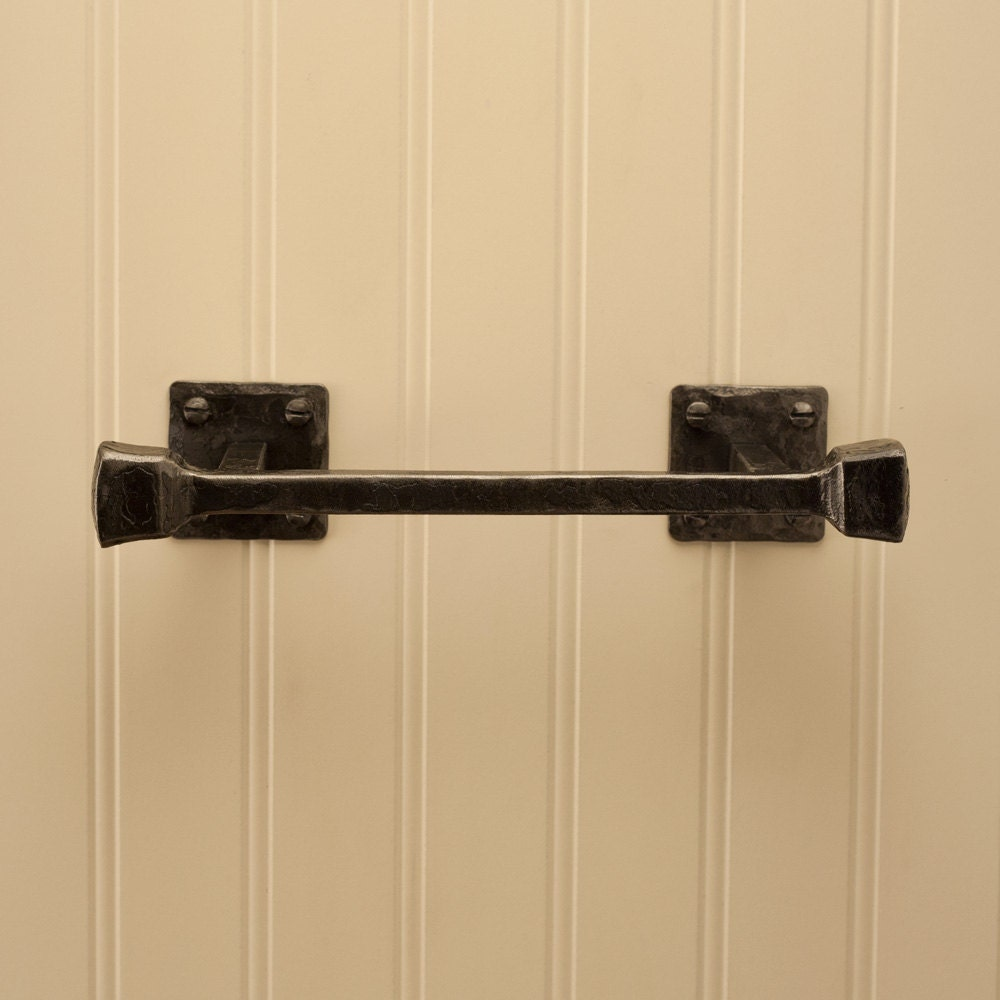 6 Frithia Hand Towel Bar Hand Forged Iron