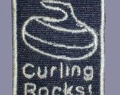 Curling Rocks patch