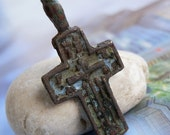 vintage or antique cross with patina... Nov 04