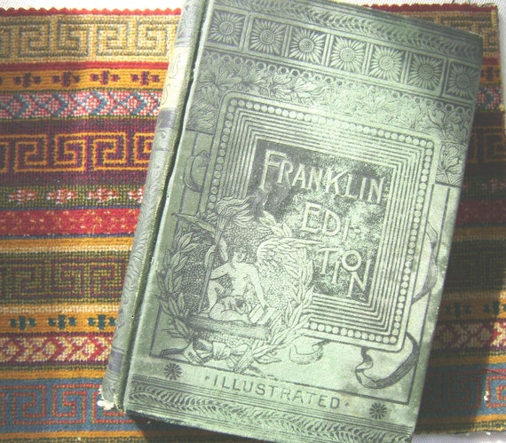 Voices of the Night Ballads by Longfellow Franklin Edition 1888 saturday sale
