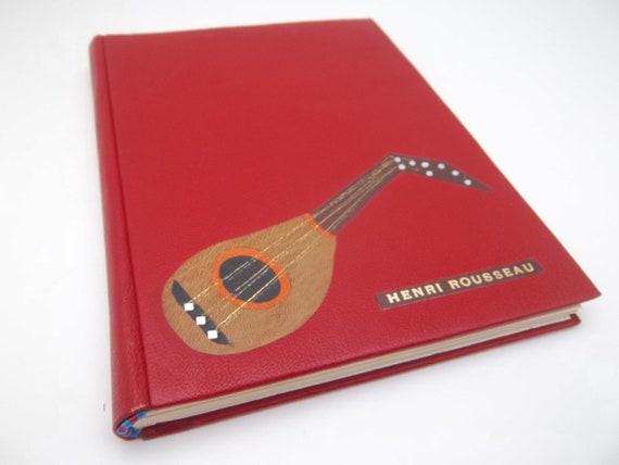 Henri Rousseau : archivally restored art book, rebound in goatskin, small collectible art book