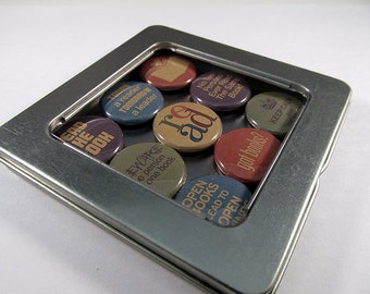 Book Lover Magnet Set 2 / Refrigerator Magnets / Locker Magnets / Ready for Gift Giving