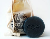Patchouli Lump of Coal Soap Naughty this Year Soap Black Shave for Men Black Friday Etsy