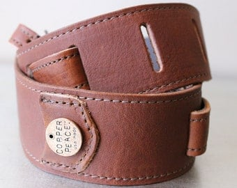 Homerun Leather Banjo Strap