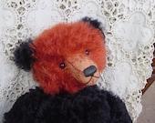 Artist Bear mohair OOAK Bear Teddy Panda