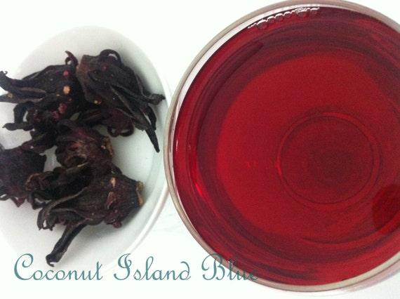 Hibiscus Roselle  1 Oz All Natural Food Coloring Tea Spice and Flavor Roselle, Florida Cranberry, Jamaican Sorrel - Hibiscus Sabdariffa