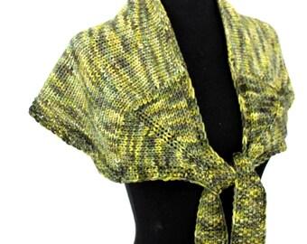PATTERN - Shoulder Wrap Bulky Weight Yarn Easy Knitting Pattern
