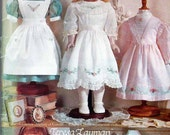 "Vogue Doll Clothing Pattern 663 - 18"" Doll Old Fashion Dresses"