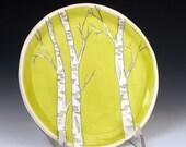 Chartruce Birch Salad/Dessert/Snack Plate