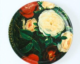 FLORAL //// Tin Dish