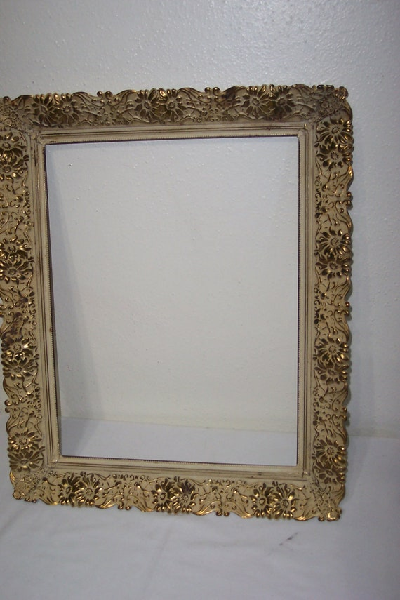 Picture Frame Gold Metal 11 X 14