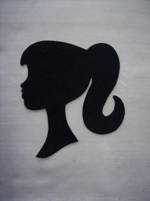 Vintage Barbie Head Logo