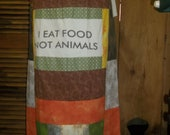 SALE Earthy Vegan Mamma Skirt Handmade Hippie Patchwork