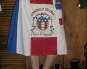 Gathering of the Vibes Hippie Mamma Handmade Patchwork Skirt