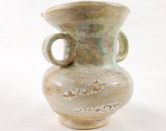Ceramic Vase Primitive Organic Natural Colors