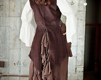Brown Airship Pirate Coat