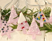 Special sale for Barbara  Pink Christmas Ornament