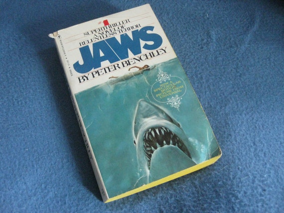 an analysis of the novel jaws written by peter benchley How are tension, suspense, and atmosphere created in the film extracts from  it was adapted from a novel by peter benchley  created in the film and novel jaws.