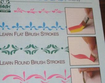Plaid Brush Strokes Made Easy