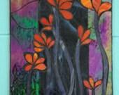 Mosaic Glass Abstract Art