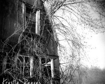 Abandoned Barn 8x8 fine art print