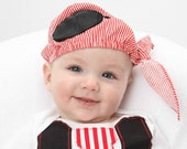 Infant and Toddler Pirate Skullcap