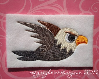 Bird 5, INSTANT DIGITAL DOWNLOAD, Embroidery Design for Machine Embroidery 4x4