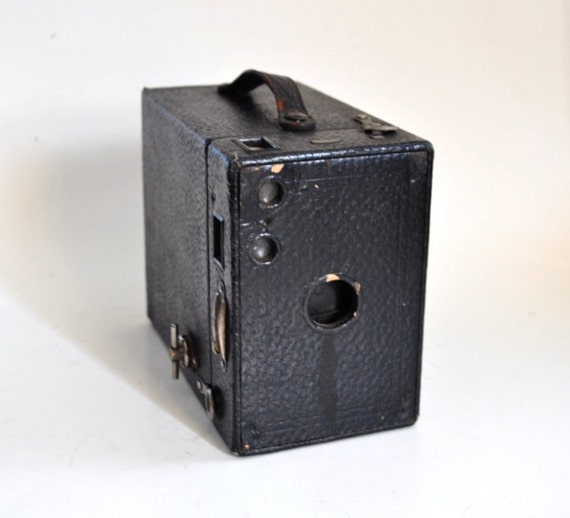 Antique Kodak Brownie Camera Model 2a Early 1900s Worn And