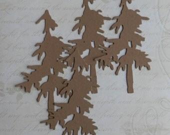 4  Pine Tree - chipboard