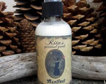 Rita's Manifest Spiritual Mist Spray - Pagan, Magic, Hoodoo, Witchcraft, Juju