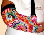 Pink Tie Dye Arm Sling