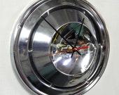 1968 - 1970 Chevrolet Hubcap Clock - Chevy Camaro Hub Cap - 1969 Nova Chevelle Wall Decor