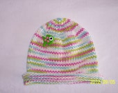 Very Fishy Newborn Baby Rolled Brim Beanie Hat