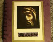 Stations of the Cross - Passion of the Christ - Handmade Devotional Booklet - Lent - Catholic - FREE Shipping