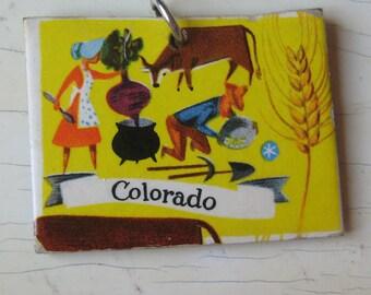 Colorado Vintage Puzzle Pendant