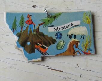 Montana Vintage Puzzle Pendant