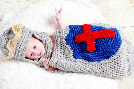 Little Prince Charming Cocoon and Helmet Crochet Pattern pdf 651 permission to sell what you make