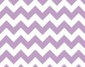 Chevron - Lavender and White - Sweet Bobbins Wet Bag - SEAM SEALED - Snap Strap