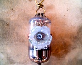 RADIO VACUUM TUBE Repurposed Pendant
