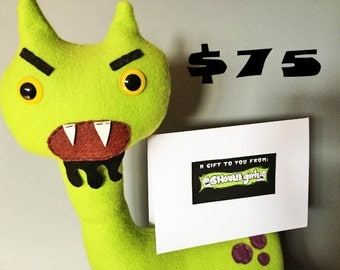 Ghoulie Girls 75 Dollar Gift Certificate