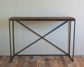Bar Height Reclaimed Wood Table