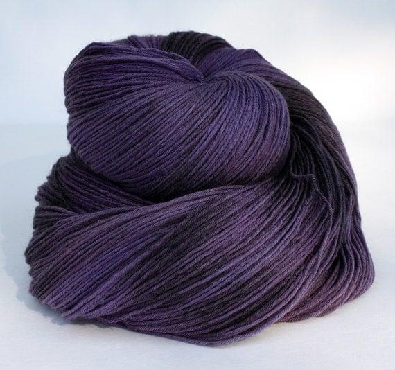 Purple Fusion--Continental Cat-- 100% SW Merino