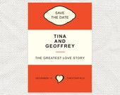 love story save the date - printable file