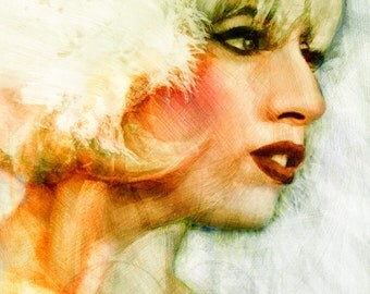 Lady Gaga - Limited Edition Print 8.5 x 11
