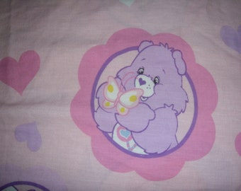 Care Bears TWIN FLAT Sheet - Reclaimed Bed Linens
