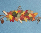 Lovely Fall Border for Halloween, Thanksgiving, Pumpkin Patch, Harvest Scrapbook Layouts, Cards or Projects